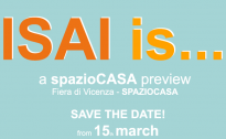 ISAI is... a spazioCASA preview